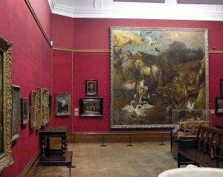 Les galeries d'art à Saint-Germain-des-Prés