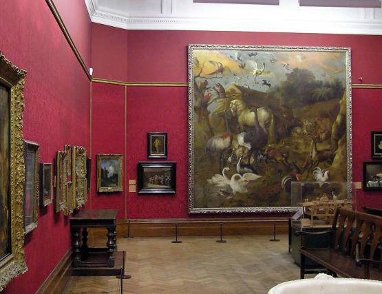 Art galleries in Saint-Germain-des-Prés